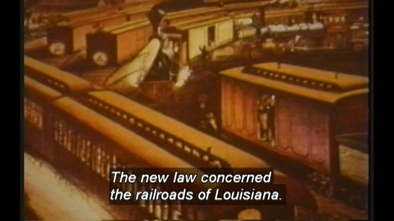 Still image from Supreme Court Decisions That Changed The Nation: Plessy Vs. Ferguson