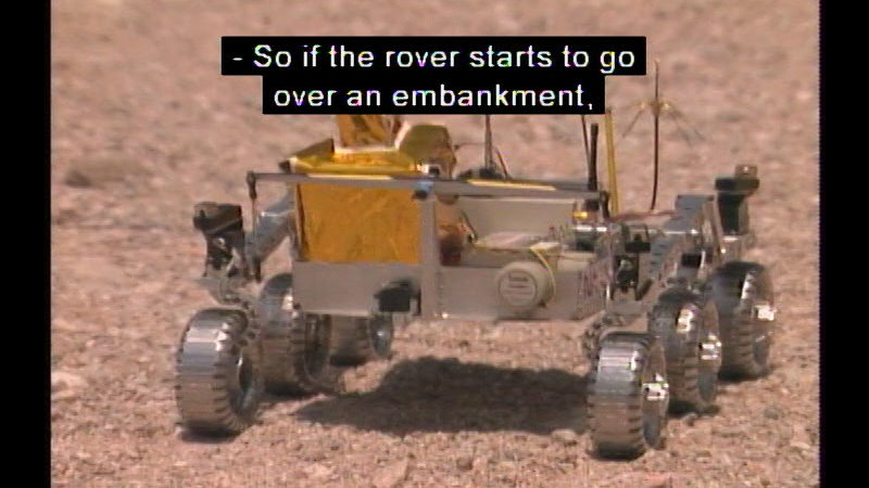 Still image from Interactions: Building A Rover
