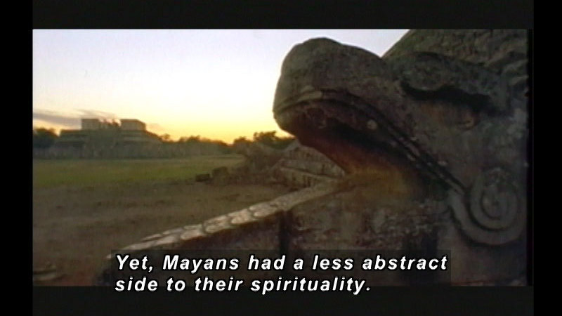 Still image from Mayans: Deception By Temple Rituals