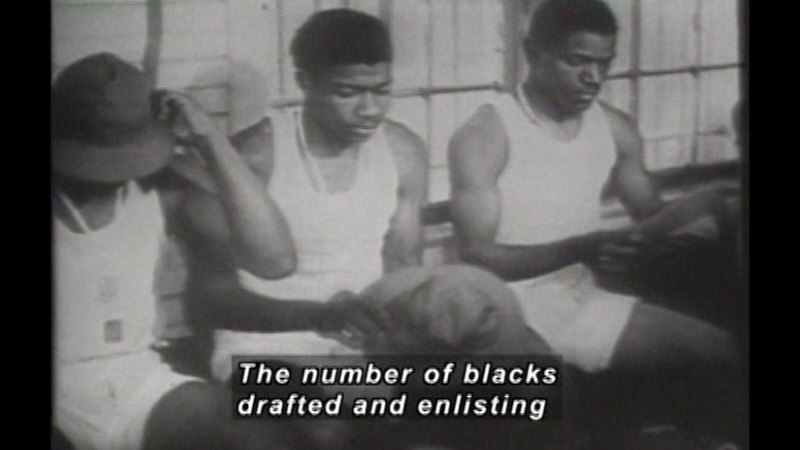 Still image from America's Black Soldiers