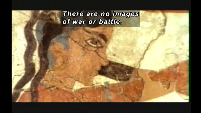 Still image from Minoans: Public Peace And Ritual Violence