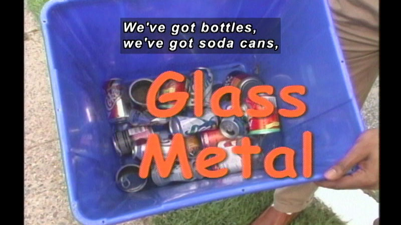 Still image from Community Helpers: Recycling Coordinator