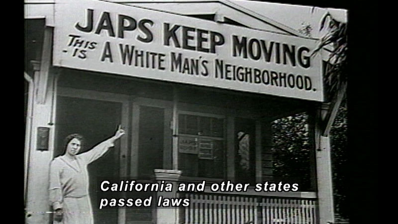 Still image from Japanese Americans In WWII