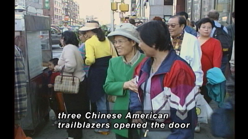 Still image from A History Of Chinese American Achievement In The United States: The Chinese American Super Achievers