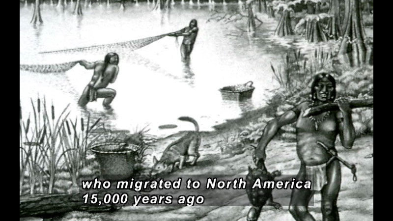 Still image from A History Of American Indian Achievement: The Golden Age Of Ancient American Indians