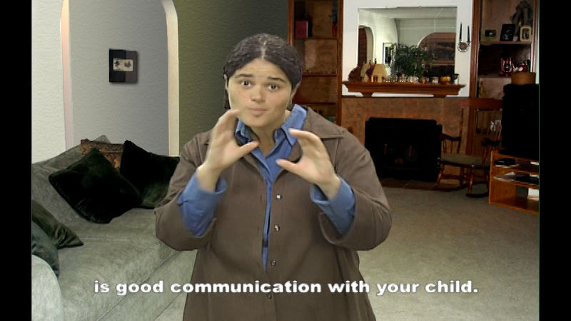 Still image from Protecting Your Deaf Child From Sexual Abuse: A Parent's Guide