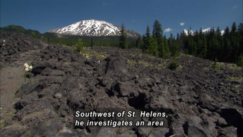 Still image from How The Earth Was Made: Mount St. Helens