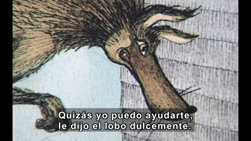 Still image from The Donna Guthrie Series: This Little Pig Stayed Home (Spanish)