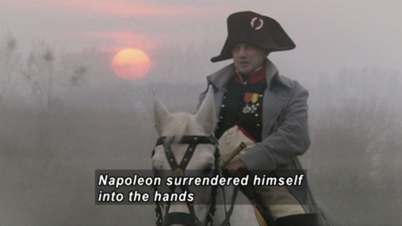 Still image from Napoleon At Waterloo: The Battle For Europe