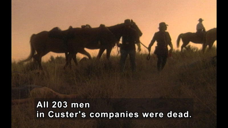 Still image from Little Bighorn: The Native American View