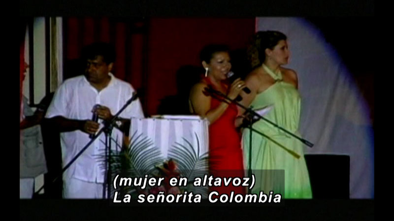 Still image from Colombia Express: Amazon Fellowship Festival Part I (Spanish)