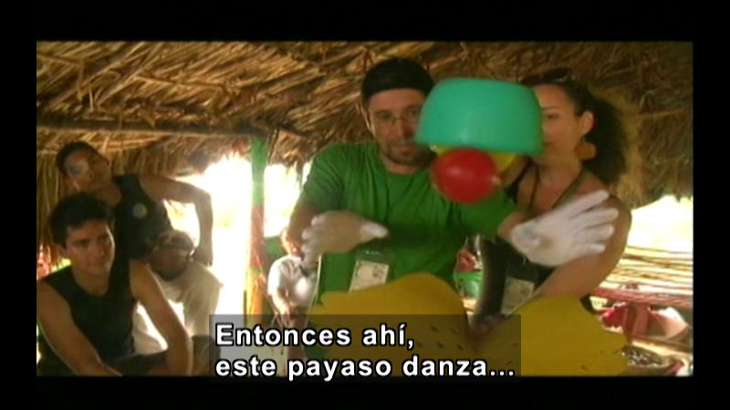 Still image from Colombia Express:  Ethnic Roots International Theatre Festival Part I (Spanish)