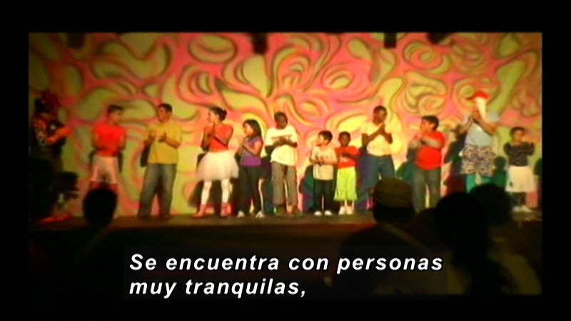 Still image from Colombia Express: Ethnic Roots International Theatre Festival Part II (Spanish)