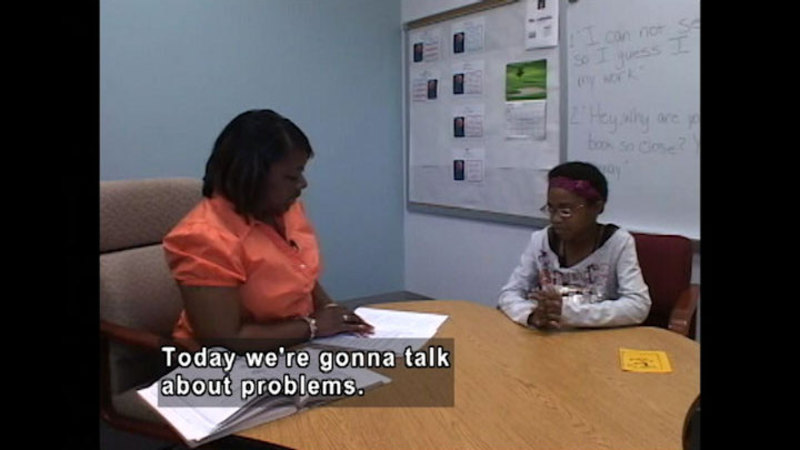 Still image from Self-Advocacy Solutions To School Problems