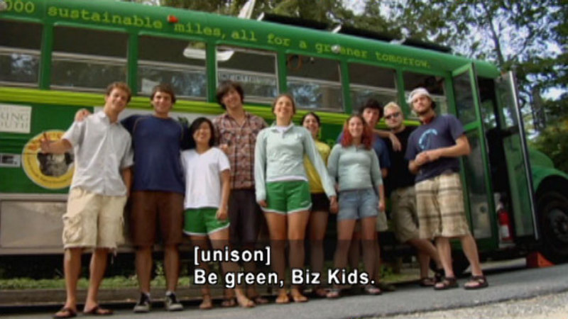 Still image from Biz Kid$: The Green Economy And You
