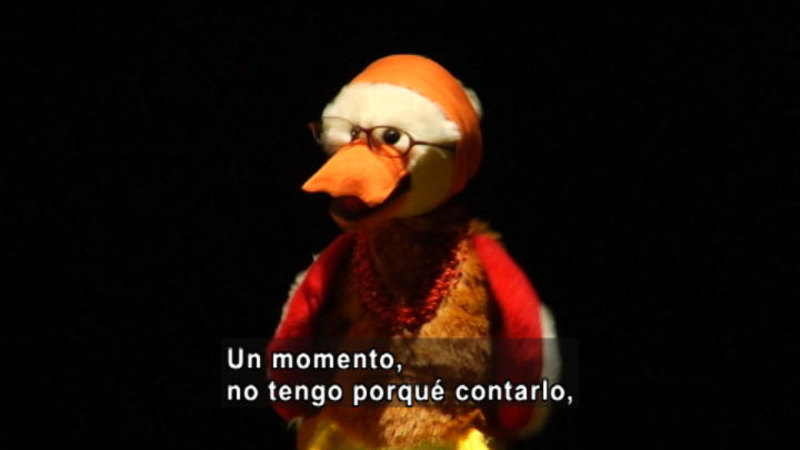 Still image from The Parakeet Show- Privacy (Spanish)