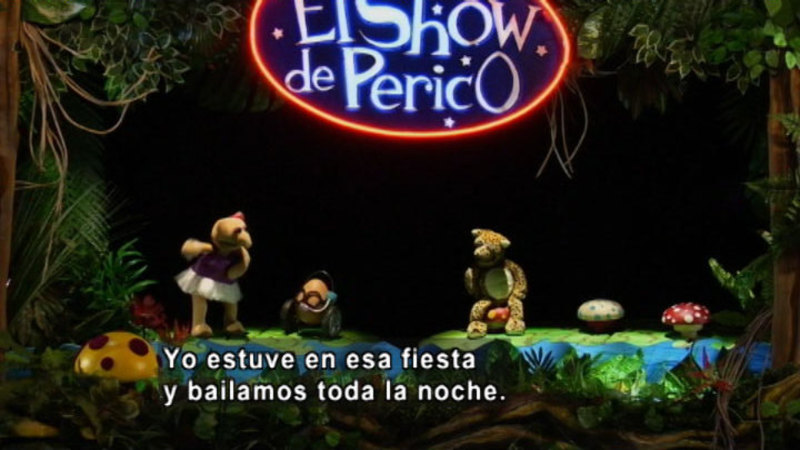 Still image from The Parakeet Show- Inclusion (Spanish)