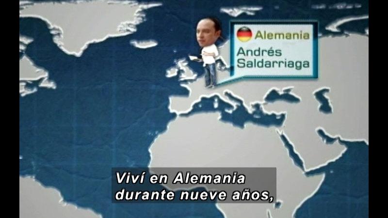 Still image from Vox Populi-Xenophobia (Spanish)