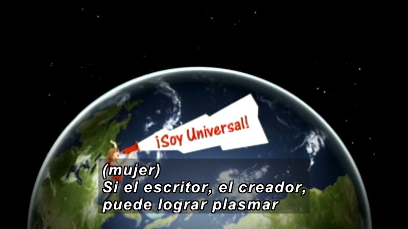 Still image from Vox Populi-Universality (Spanish)
