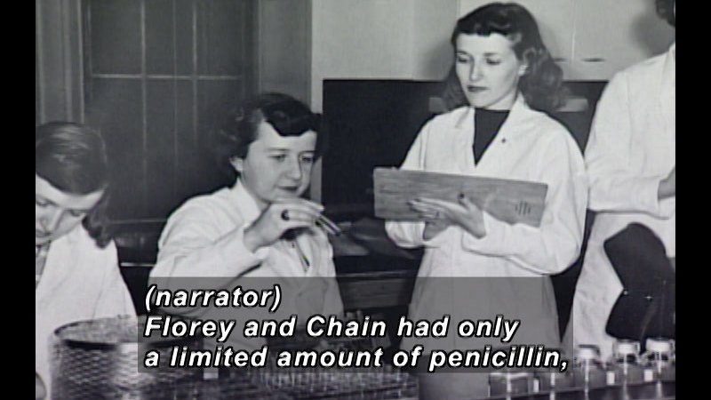 Still image from Antibiotics: The Wonder Drug
