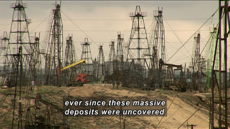 Still image from Crude: The Story Of Oil