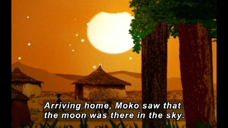 Still image from Moko: The Changing Moon