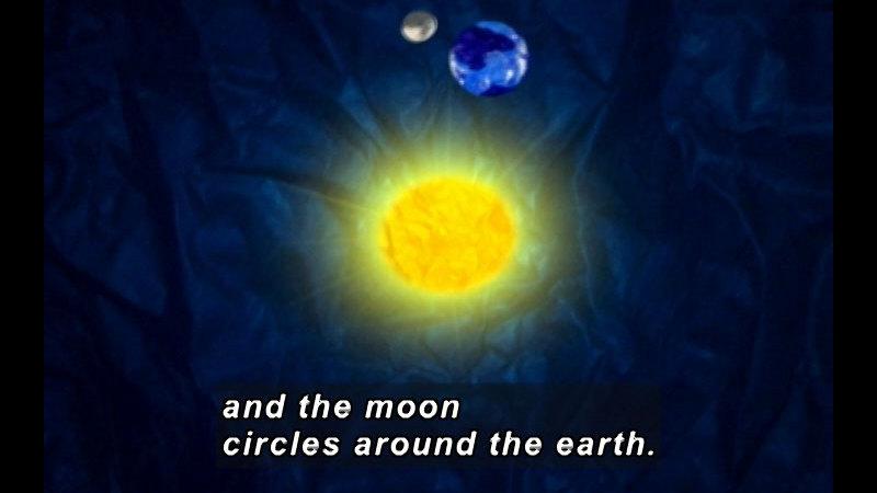Still image from Moko: The Missing Sun