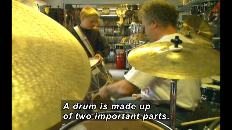 Still image from Denmark: Christian And His Drum