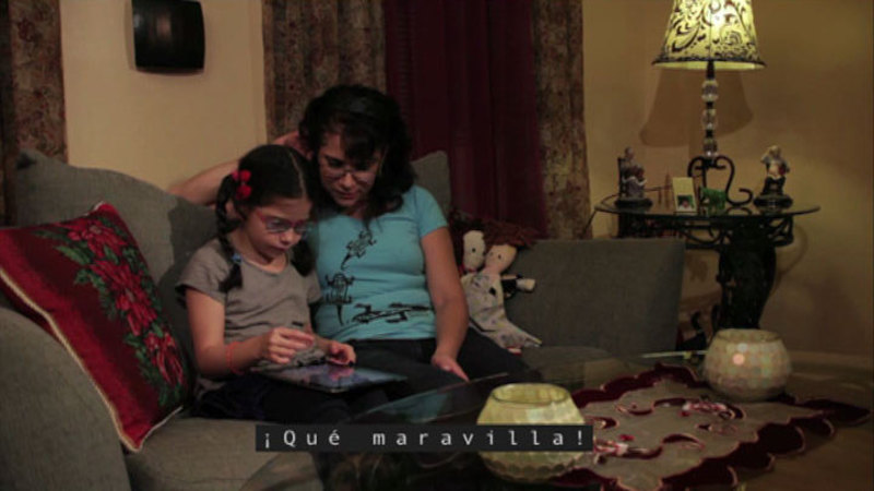Still image from Isabel Needs Assistive Technology
