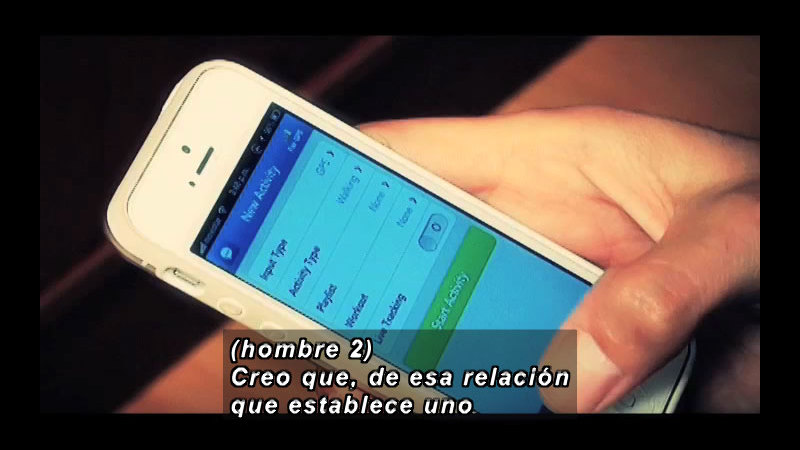 Still image from Science And Technology - Mobile Devices (Spanish)
