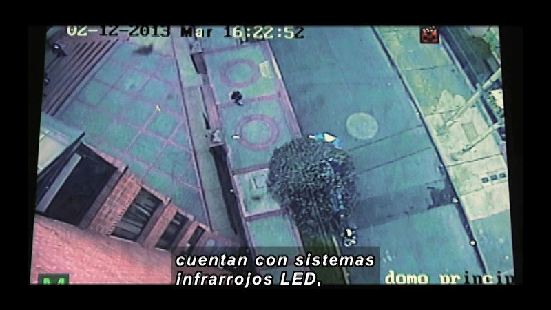 Still image from Science And Technology - Electronic Security (Spanish)
