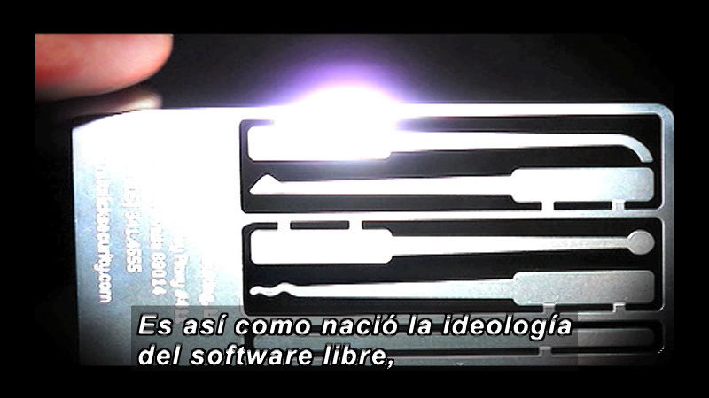 Still image from Science And Technology - Free Software (Spanish)