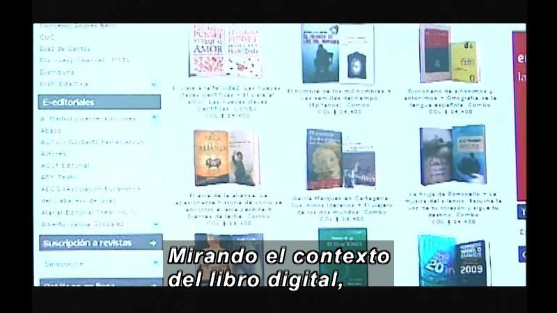 Still image from Science And Technology - Digital Book (Spanish)
