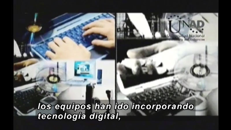 Still image from Science And Technology - ICTs (Spanish)