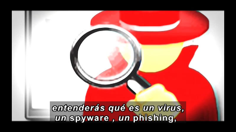 Still image from Science And Technology - Internet Safety (Spanish)