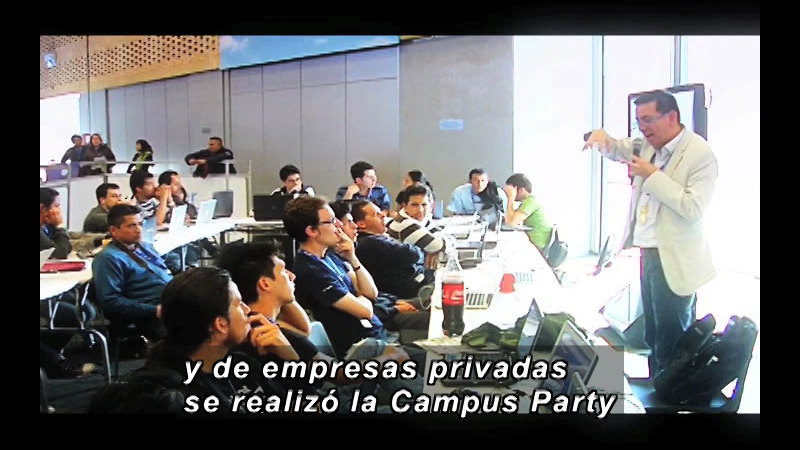 Still image from Science And Technology-Campus Party 1 (Spanish)