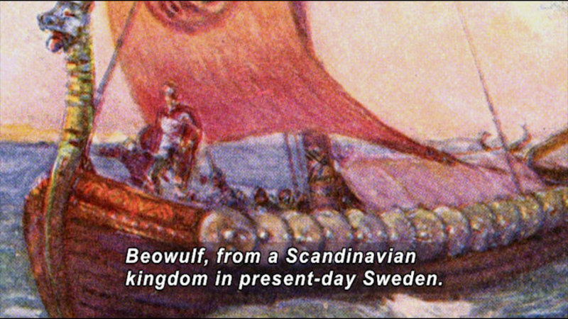 Still image from Great Authors Of The British Isles: Beowulf To Shakespeare