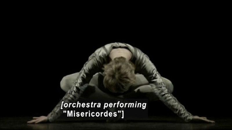 Still image from Strictly Bolshoi: Christopher Wheeldon's Misericordes/Elsinore