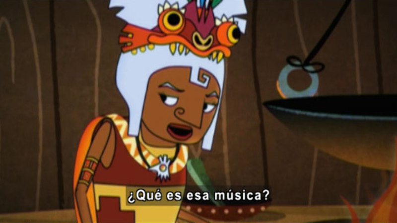 Still image from Medialuna And The Magic Nights: Witches Want To Dance (Spanish)