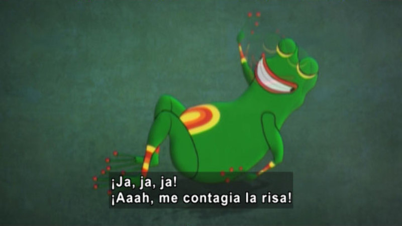 Still image from Medialuna And The Magic Nights: The River Of Laughter (Spanish)