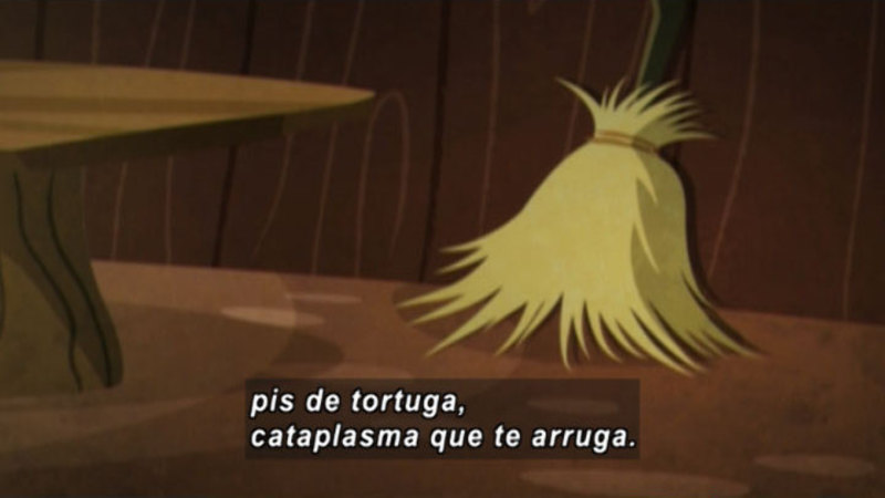 Still image from Medialuna And The Magic Nights: The Witch And The Broom (Spanish)