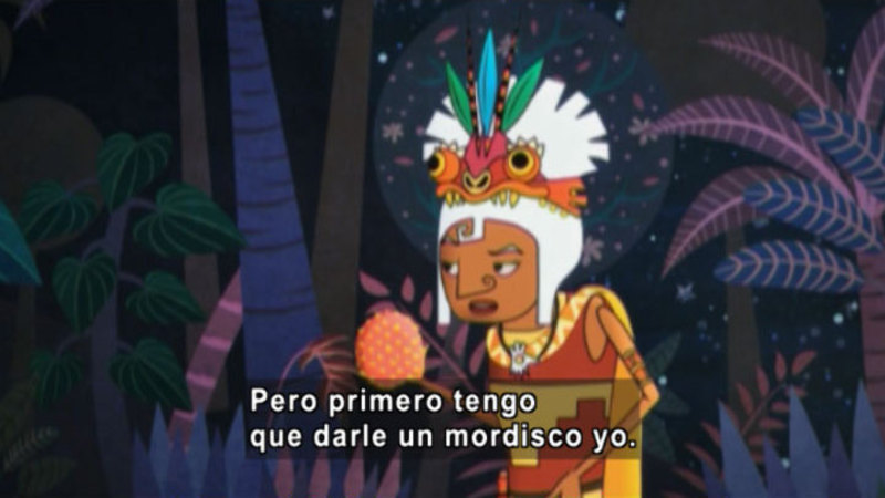 Still image from Medialuna And The Magic Nights: The Magical Fruit (Spanish)