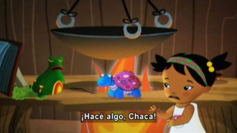 Still image from Medialuna And The Magic Nights: A Tangle Spell (Spanish)