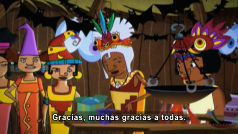 Still image from Medialuna And The Magic Nights: Gualichu, The Great Witch (Spanish)