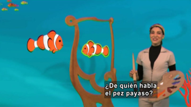 Still image from Animapaka: Clownfish (Spanish)