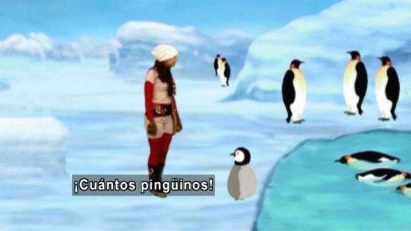 Still image from Animapaka: Penguin (Spanish)
