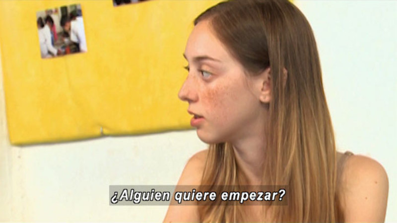 Still image from S.O.S. Interveners: Love (Spanish)