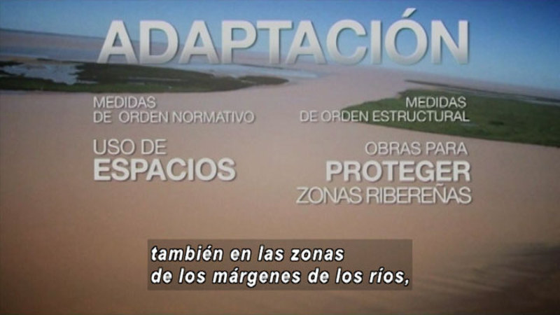 Still image from What Is The Relationship Between Extreme Events And Climate Change (Spanish)