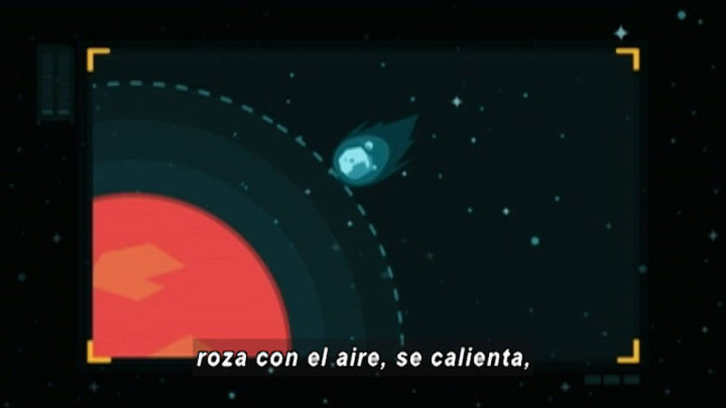 Still image from Around The Universe: Meteorum (Spanish)