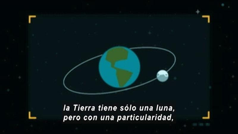 Still image from Around The Universe: Lunarum (Spanish)
